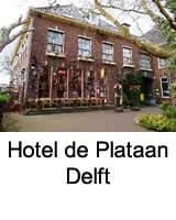 Hotel de Plataan Delft